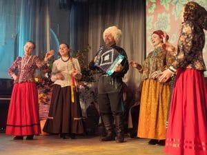 Отчетный концерт 2016 года Народного ансамбля традиционного распева «Вся Русь»