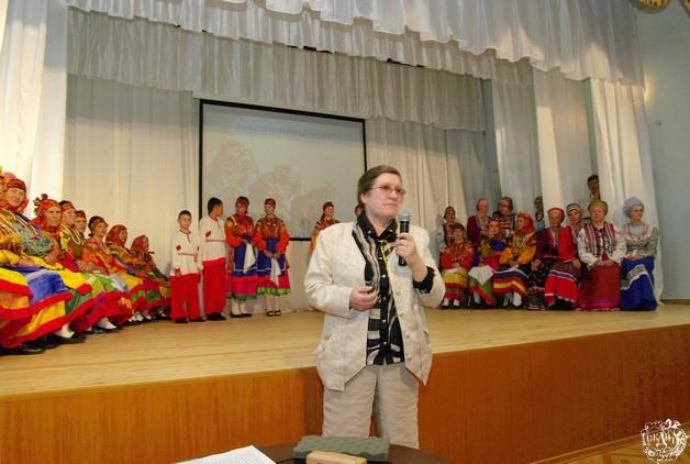 005-Якоби Л.А. проводит творческую встречу «Традиции живая нить» ансамбля «Лада»