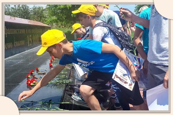 Место, где плачет земля. Ставропольские школьники завершили военно-патриотическую экспедицию в Республику Крым