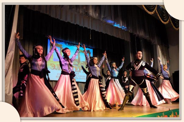 Мелодии кавказского танца