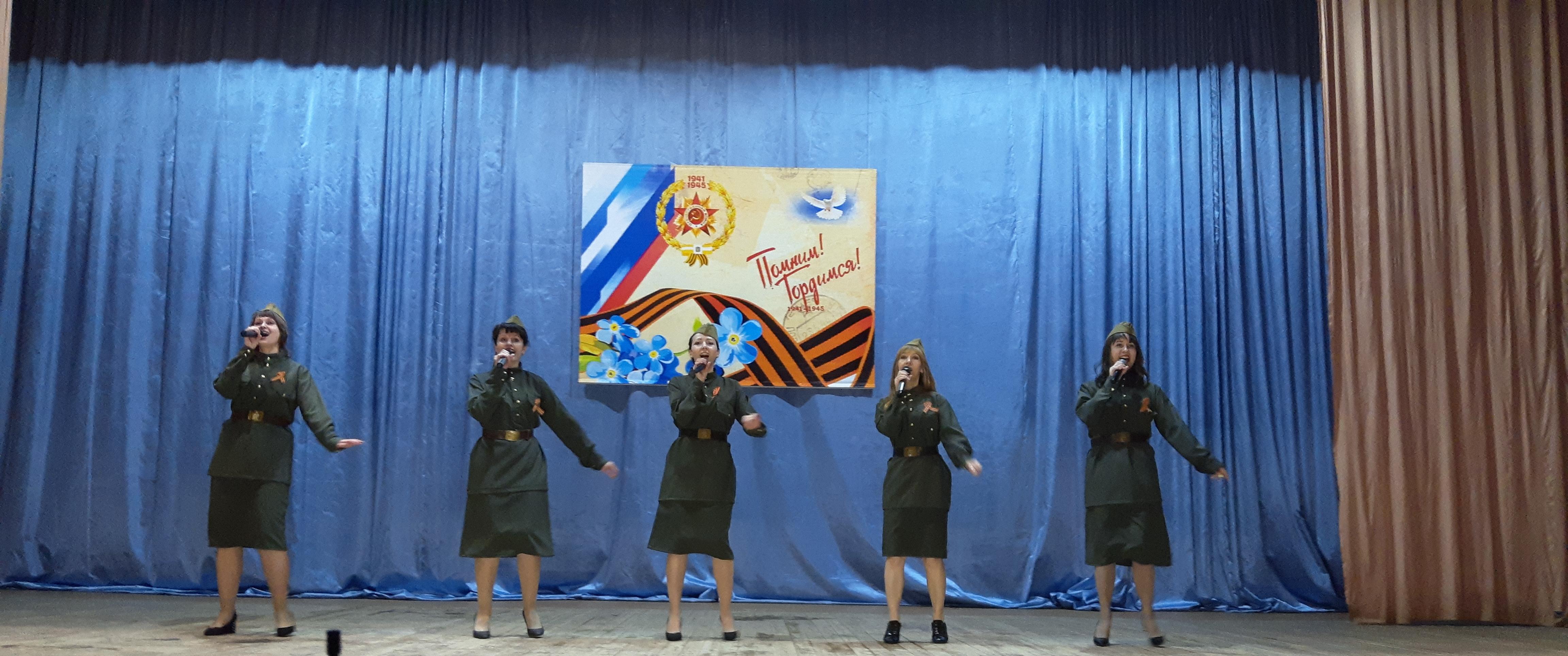 Продолжается краевая акция «Фронтовые концертные бригады»