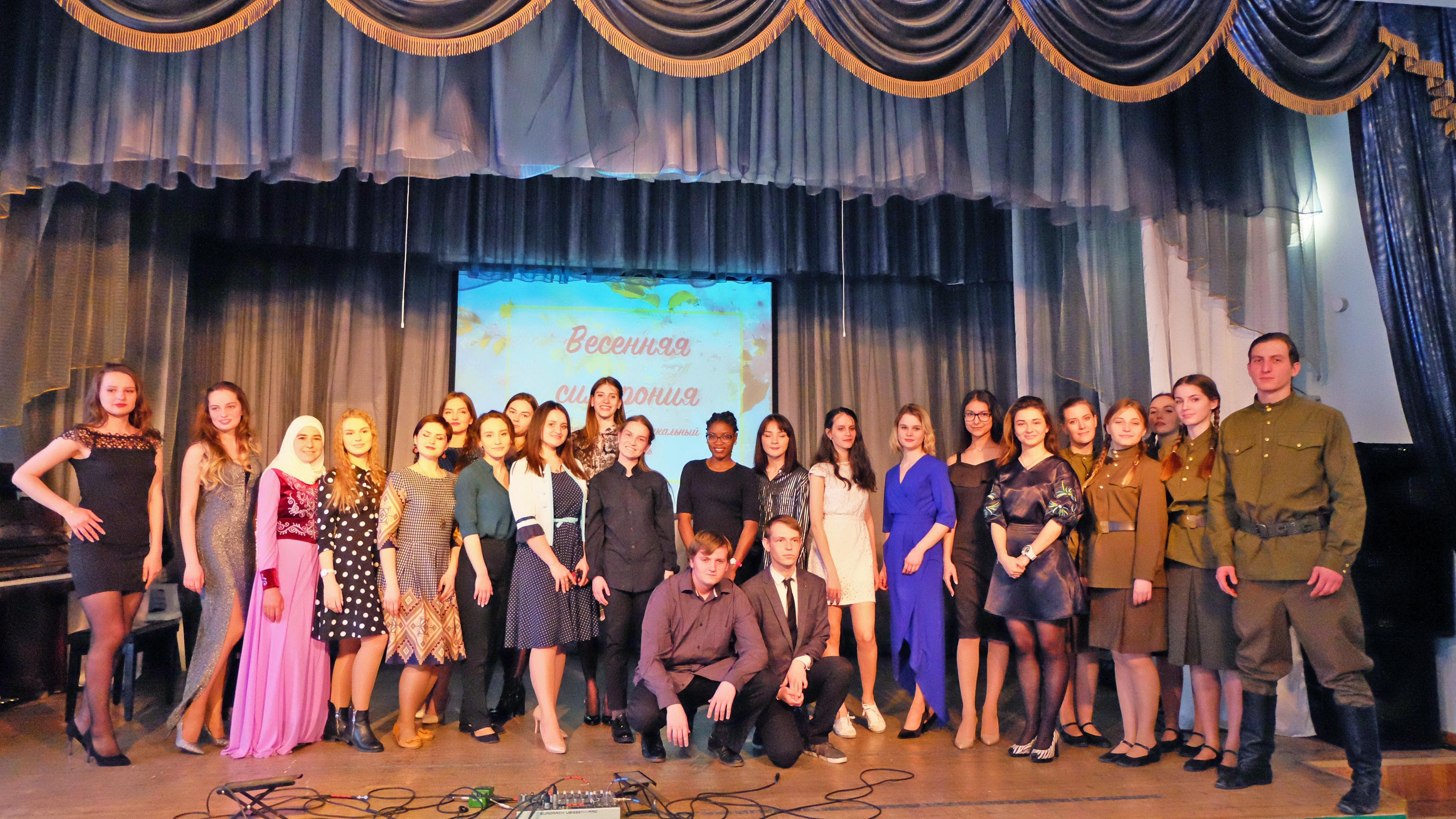 Литературно-музыкальный фестиваль «Весенняя симфония» открыл новые молодые таланты
