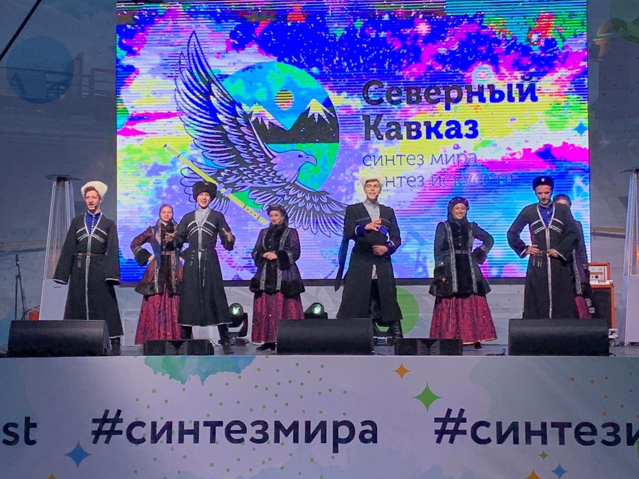 Ансамбль «Хуторок» побывал на фестивале в Санкт-Петербурге