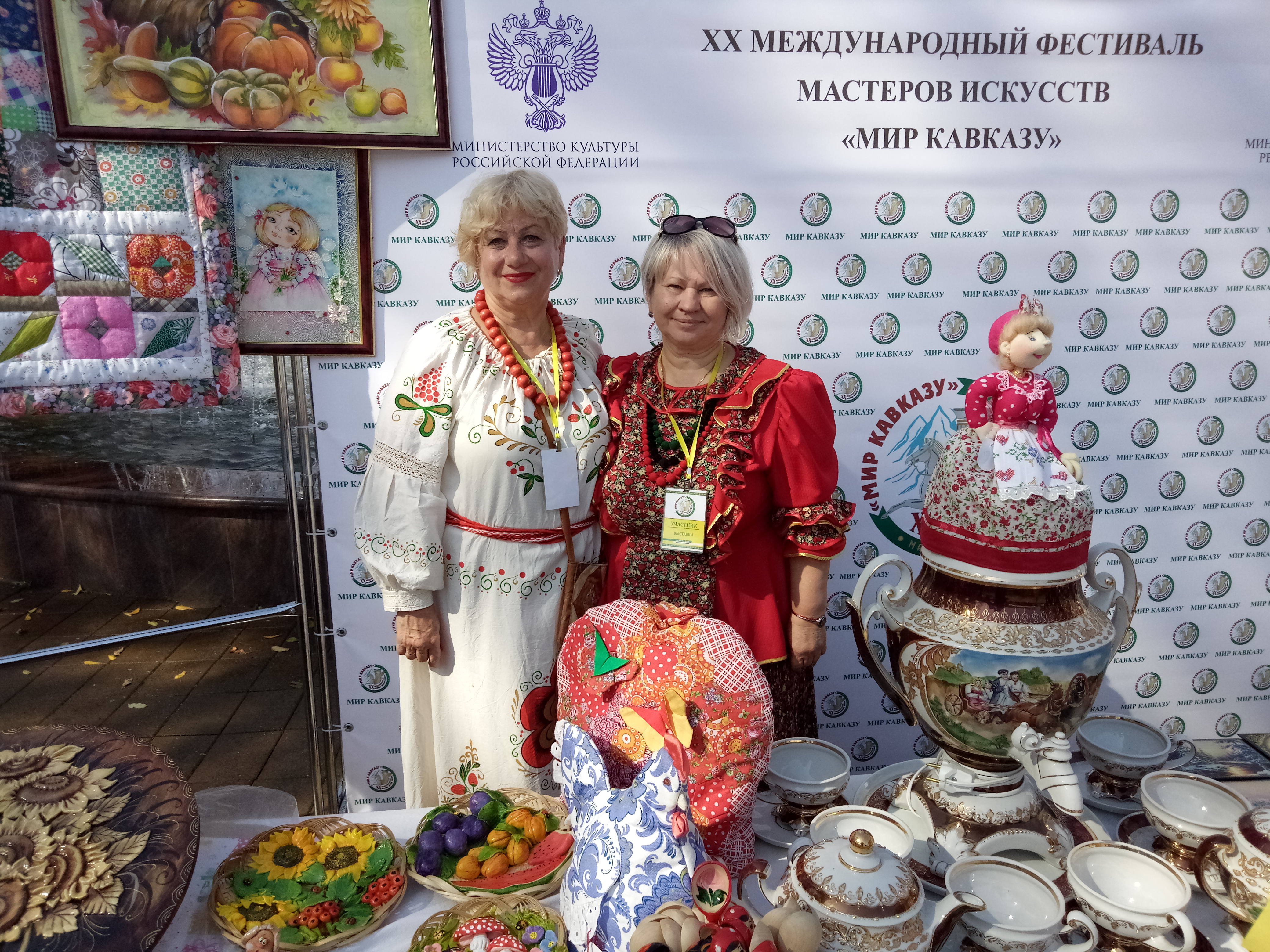 Ставропольские мастера стали участниками выставки XX Международного фестиваля искусств «Мир Кавказу»