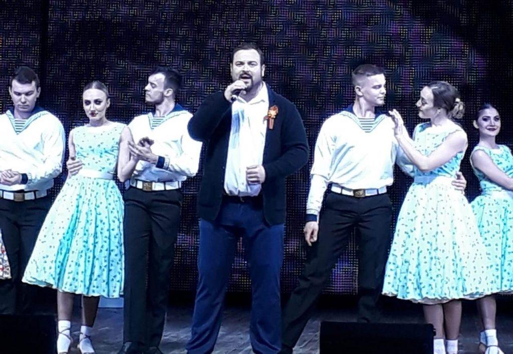 В городе Ипатово прошёл третий отчётный концерт проекта «Голос Победы».