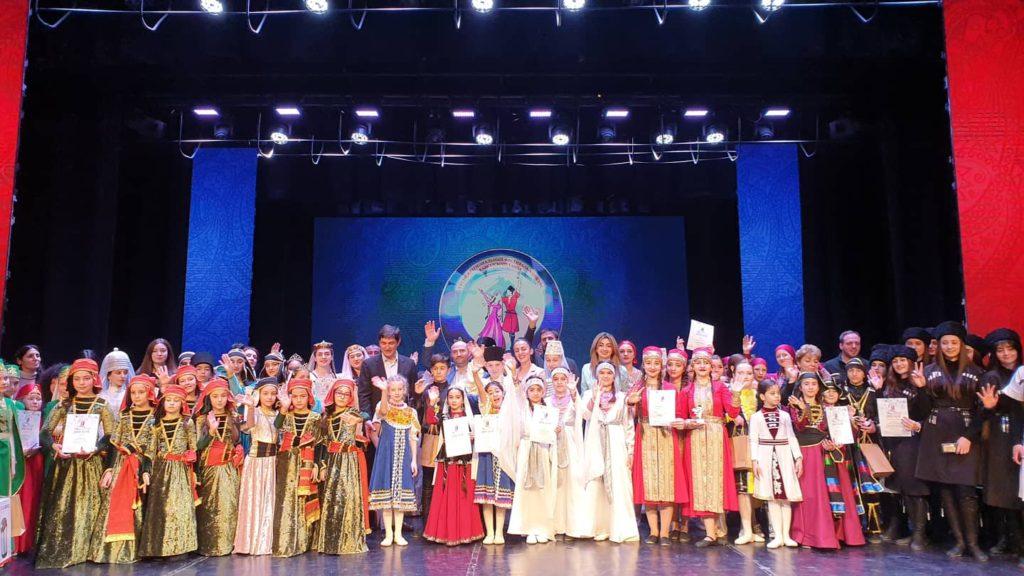 Подведены итоги межрегионального фестиваля конкурса  кавказского танца «Жемчужина Кавказа»