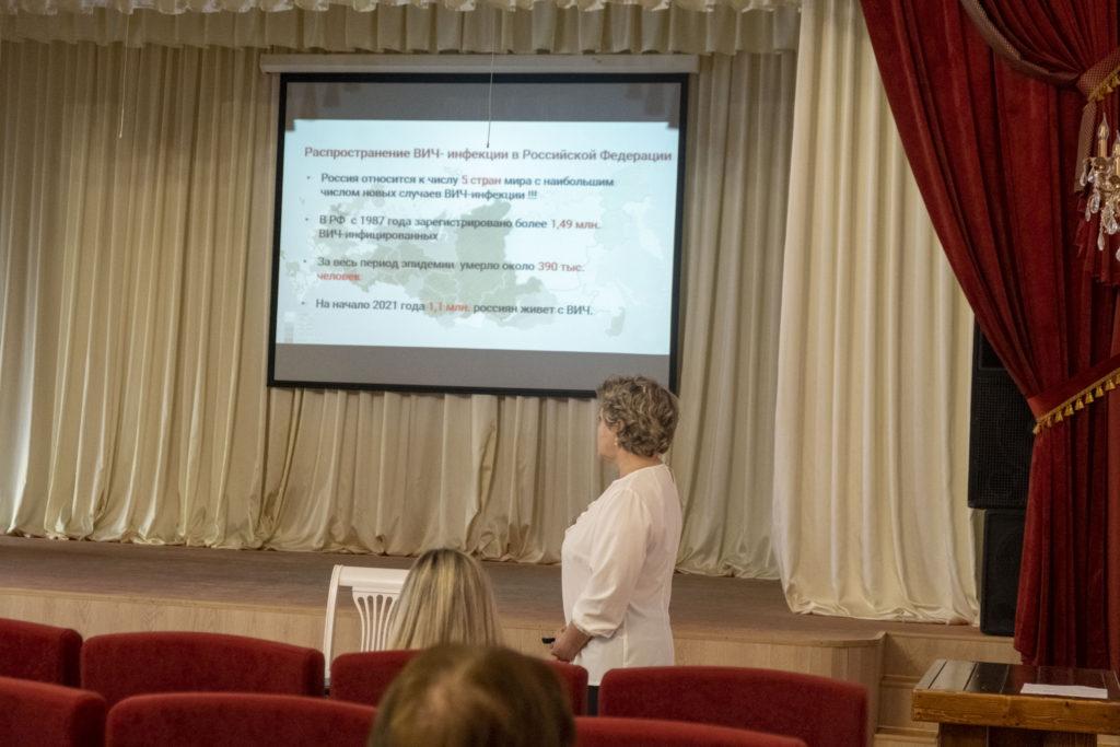 Встреча работников ГБУК «СКДНТ» с представителем краевого Центра по  профилактике и борьбе со СПИДом