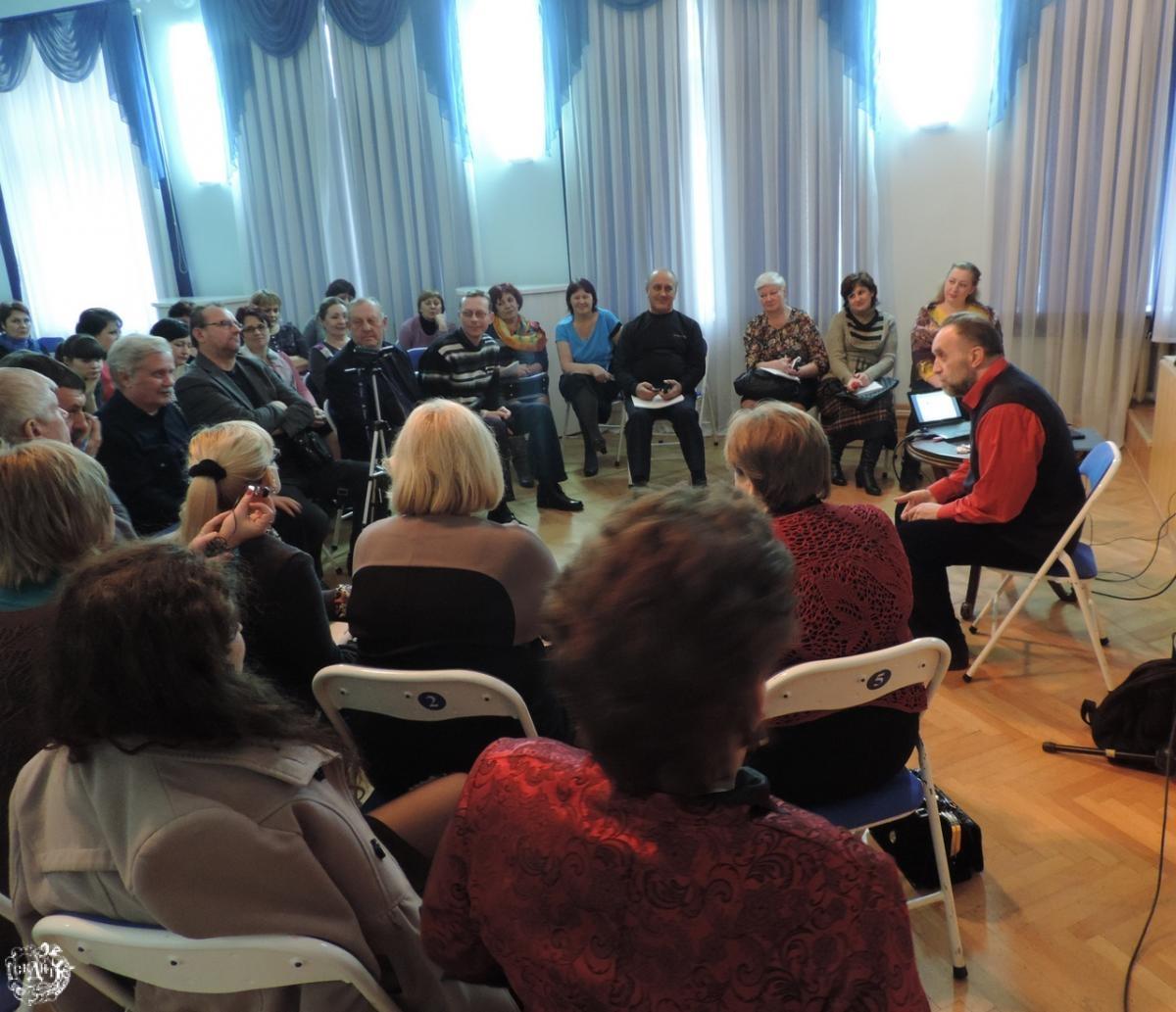 Семинар-практикум для руководителей народно-хоровых коллективов учреждений культуры