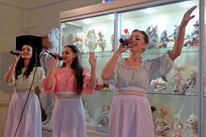 10.25.2018 ► Выставка мастеров Кочубеевки